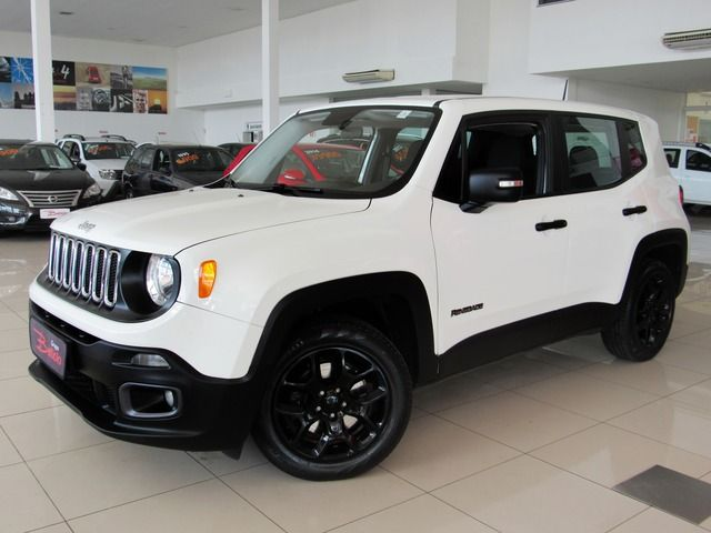 Jeep Renegade Sport 1.8 16v Flex Branco, 4 portas, Manual, Gasolina e Álcool, 56.348km Seminovos