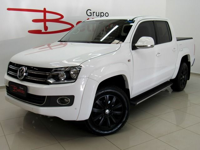 Volkswagen Amarok Highline CD 4x4 2.0 16V Turbo Intercooler Branco, 4 portas, Automático, Diesel, 99.543km Seminovos
