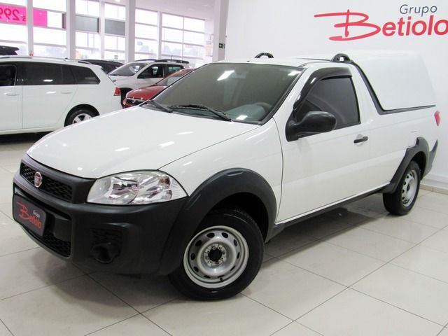 Fiat Strada Working 1.4 MPI 8V Flex Branco, 2 portas, Manual, Gasolina e Álcool, 34.038km Seminovos