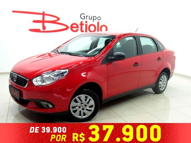 Fiat Grand Siena Attractive 1.0 Flex Vermelho, 4 portas, Manual, Gasolina e Álcool, 28.316km Seminovos
