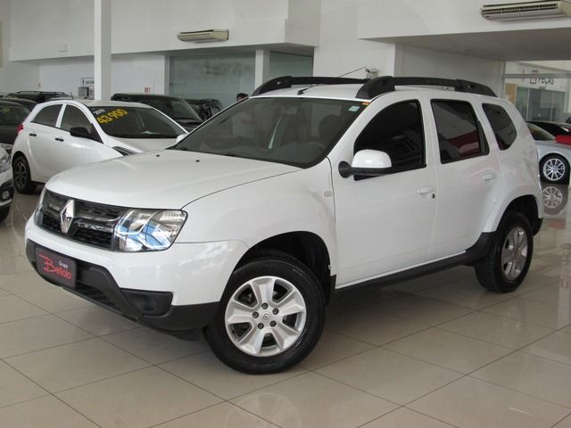Renault Duster Expression 1.6 16V Hi-Flex Branco, 4 portas, Manual, Gasolina e Álcool, 75.298km Seminovos