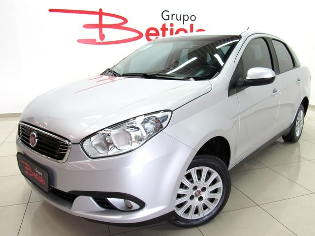 Fiat Grand Siena Attractive 1.0 Flex Prata, 4 portas, Manual, Gasolina e Álcool, 38.553km Seminovos Imagem 0