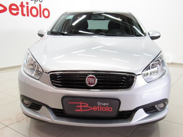 Fiat Grand Siena Attractive 1.0 Flex Prata, 4 portas, Manual, Gasolina e Álcool, 38.553km Seminovos Imagem 1