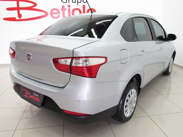 Fiat Grand Siena Attractive 1.0 Flex Prata, 4 portas, Manual, Gasolina e Álcool, 38.553km Seminovos Imagem 2
